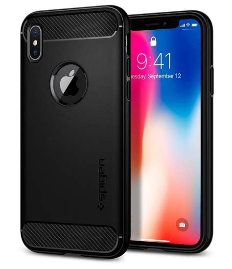 Spigen Rugged Armor Iphone X Blue best iphone x how to choose a for iphone x