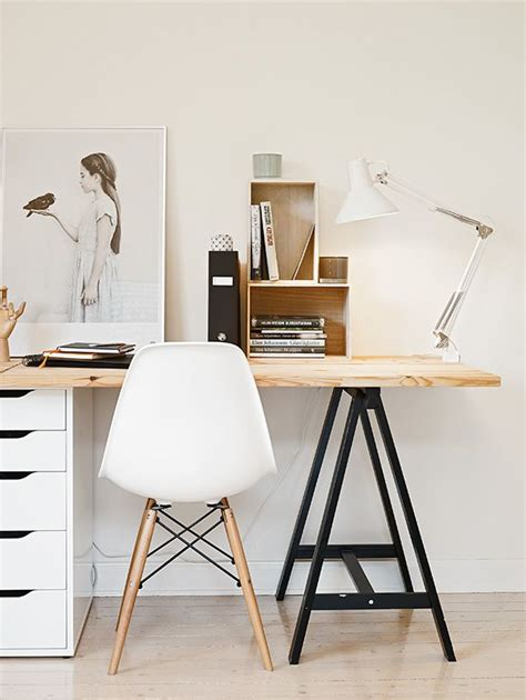 sawhorse desk with drawers 50 awesome workspaces offices unit offices and
