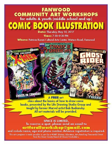 thursdays at eight a novel books free fanwood comic book illustration class on thursday