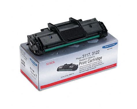 Toner Xerox Phaser 3124 by Xerox Phaser 3124 Toner Cartridge 2 000 Pages Quikship