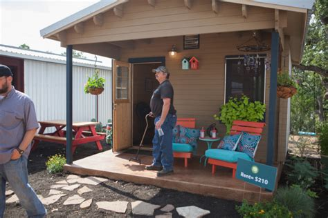 tiny houses in austin are helping the homeless but it fighting homelessness in austin one tiny house at a time