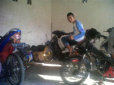 Modif Mio Sporty Balap by Modifikasi Mio Sporty Balap Modifikasi Motor Kawasaki