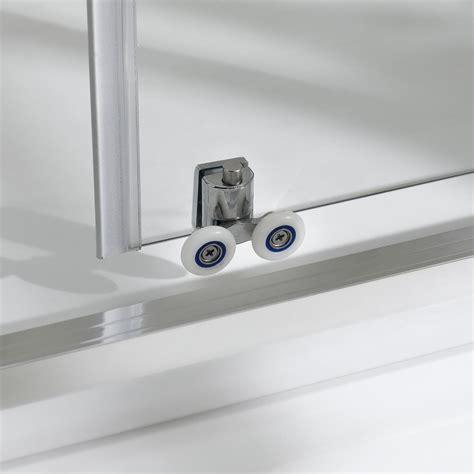 ruote per porte scorrevoli box doccia porta doccia con due ante scorrevoli per nicchia h 185 198