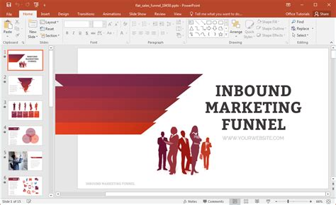 What Is Template In Powerpoint animated flat sales funnel powerpoint template