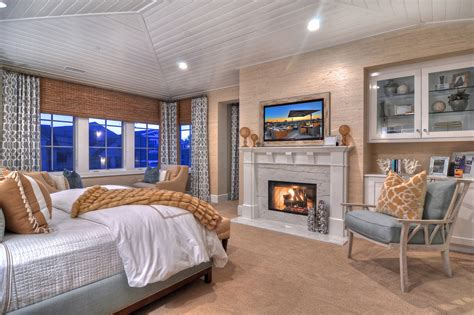 Beachy Master Bedroom Ideas by 21 Bedroom Fireplace Designs Decorating Ideas Design