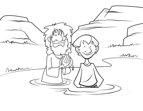 coloring pages for the baptist the baptist coloring pages for coloring home