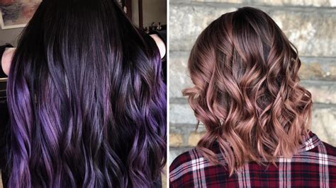 try hair color trendy hair colors to try right now simplemost