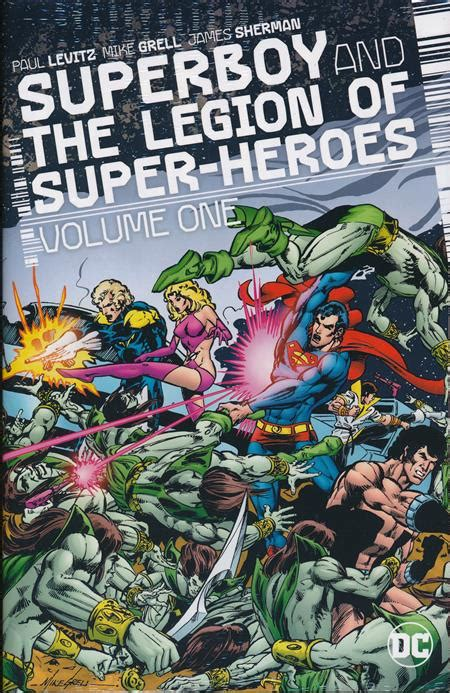 superboy and the legion of superheroes hc vol 01