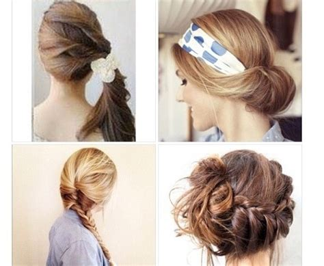 easy hairstyles for school you can do yourself musely