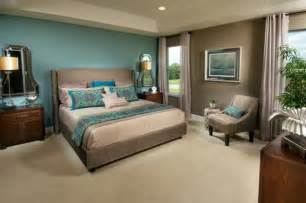 chambre beige et bleu chaios