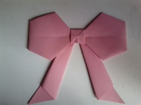 Origami Cut Outs - origami bows 183 an origami shape 183 and papercraft on