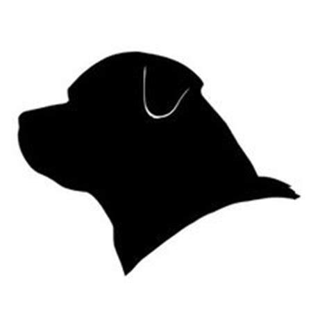 rottweiler silhouette rottweiler silhouette clipart best