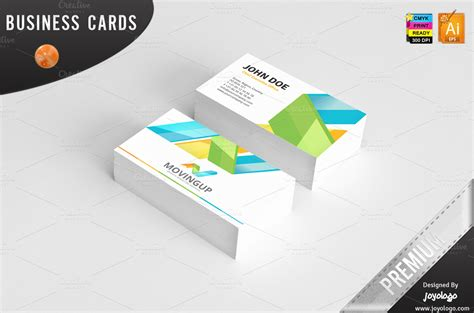 3d arrows marketing business cards business card