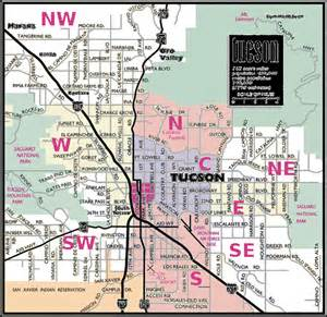 Map Of Tucson Arizona by Similiar Greater Tucson Area Map Keywords