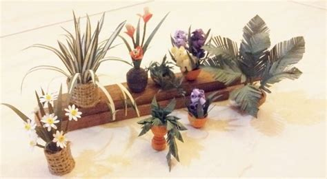 Which Plant Is Used To Make Paper - miniatures paper plants for doll house 8 steps with