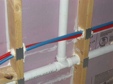 how to run plumbing plumbing 101 hot and cold water lines should not touch