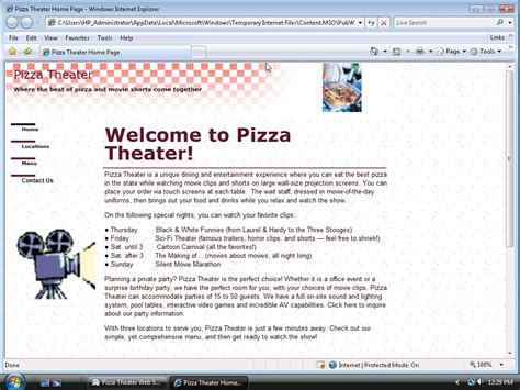 Microsoft Publisher Website Templates by Assignment 2 Forms In Publisher