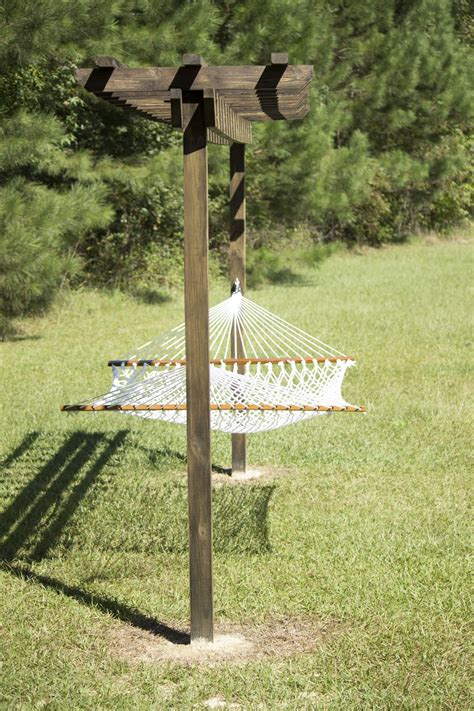 backyard hammock stand 25 money saving diy backyard projects to transform your