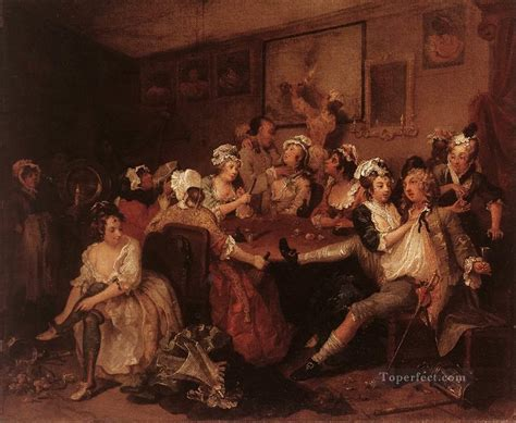 8 Paintings By Hogarth the william hogarth painting in for sale