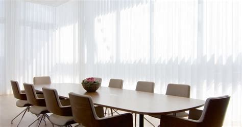 conference room curtains 5400 electric curtain track in a conference room