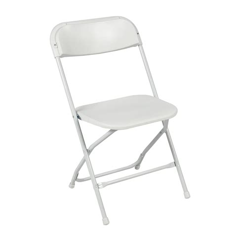 foldable chair 5 commercial white plastic folding chairs stackable