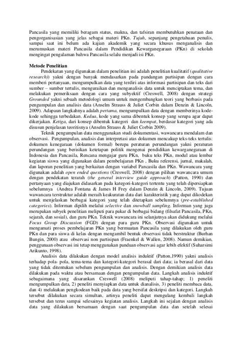contoh format artikel penelitian contoh artikel penelitian contoh m