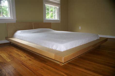 handmade queen size platform bedframe bed  edward