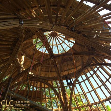bamboo dome sala bamboo earth architecture clc