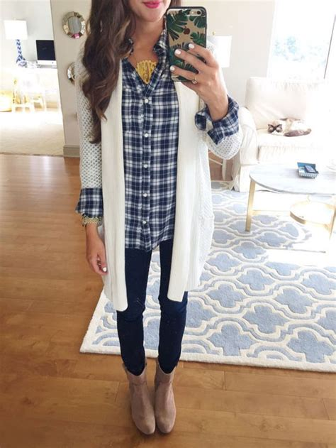 20708 Black Green Fashion Plaid Sale Blouse nordstrom anniversary sale plaid shirt with open cardigan