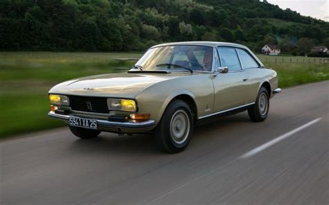 peugeot 2 door sports car peugeot 504 coup 233 throwback thursday remember the