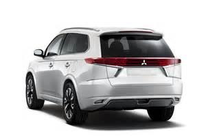 Mitsubishi S Mitsubishi S Outlander Phev Concept S Is How The Outlander