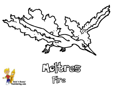 pokemon coloring pages moltres articuno zapdos moltres coloring page coloring pages