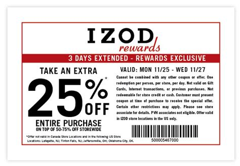 printable coupons uk only izod printable coupons printable coupons online