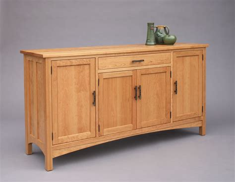 Cherry Dining Room Furniture craftsman sideboard hardwood artisans handcrafted dining
