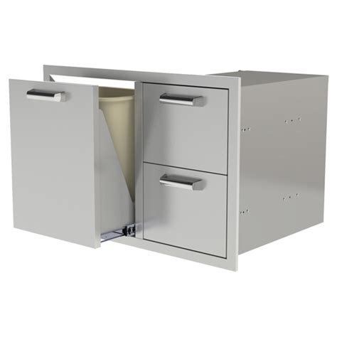 Rollout Drawers by Pcm 42 Quot Two Drawers W Trash Or Propane Rollout 350h