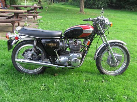 triumph trident t150 sold 1972 on car and classic uk c139475