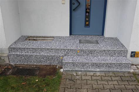 natursteinteppich treppe steinteppich f 252 r treppen im au 223 enbereich wohnraum creativ