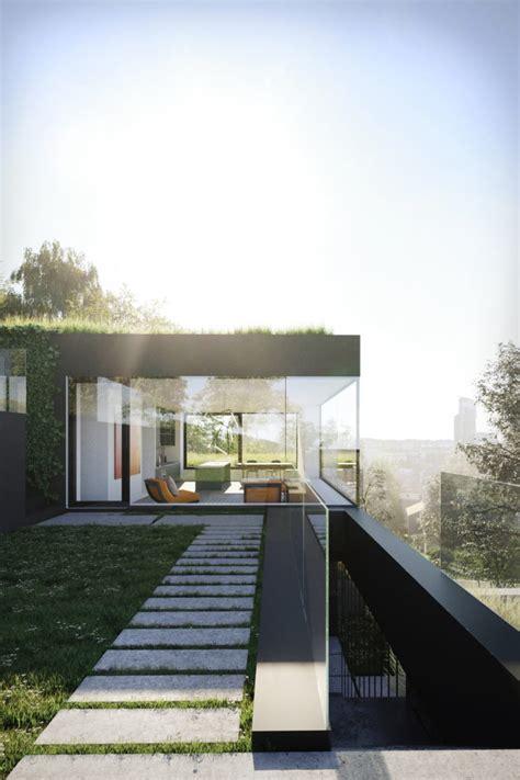 minimalist villa ronen bekerman  architectural