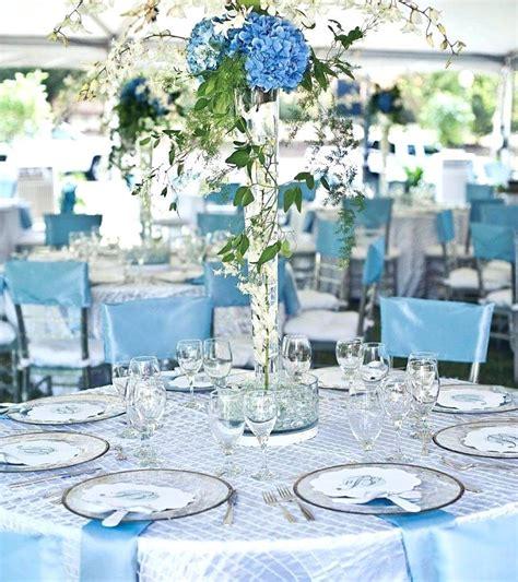 blue decorations blue wedding decorations blue
