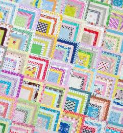 pepper quilts scrappy quarter log cabin quilt and