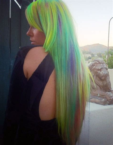 hairstyles with green highlights kerli s hairstyles hair colors steal her style