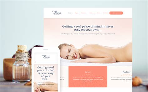 wordpress themes free massage massage salon responsive wordpress theme