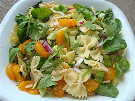 menu managed mandarin pasta salad