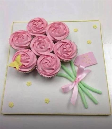 cupcake cakes cupcake pull  cakes images  pinterest desserts pull