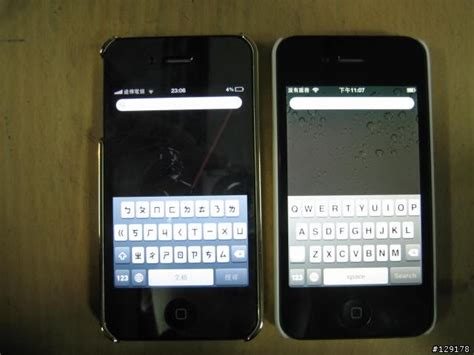 iphone yellow tint blue tint vs yellow tint iphone 4 screen review comparison shocker alert macrumors