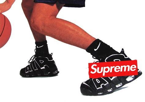 supreme nike air suptempo supreme x nike air more uptempo le site de la