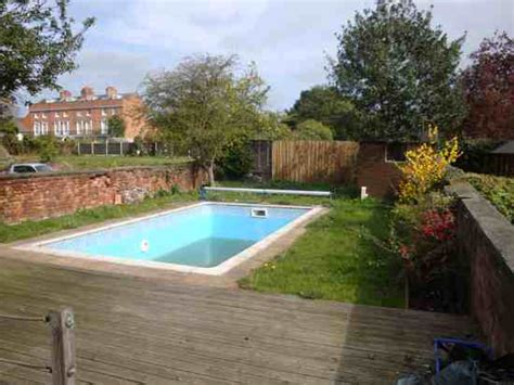 Garden Pools Rear Garden Swimming Pool