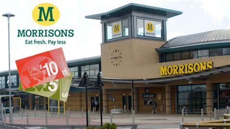 Morrisons Gift Cards - morrisons gift vouchers supermarket gift vouchers voucher express