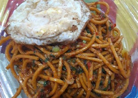 resep mie lidi telur ceplok goreng oleh ummi serkan cookpad