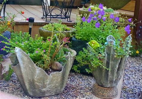 how to make cement draped planters hometalk